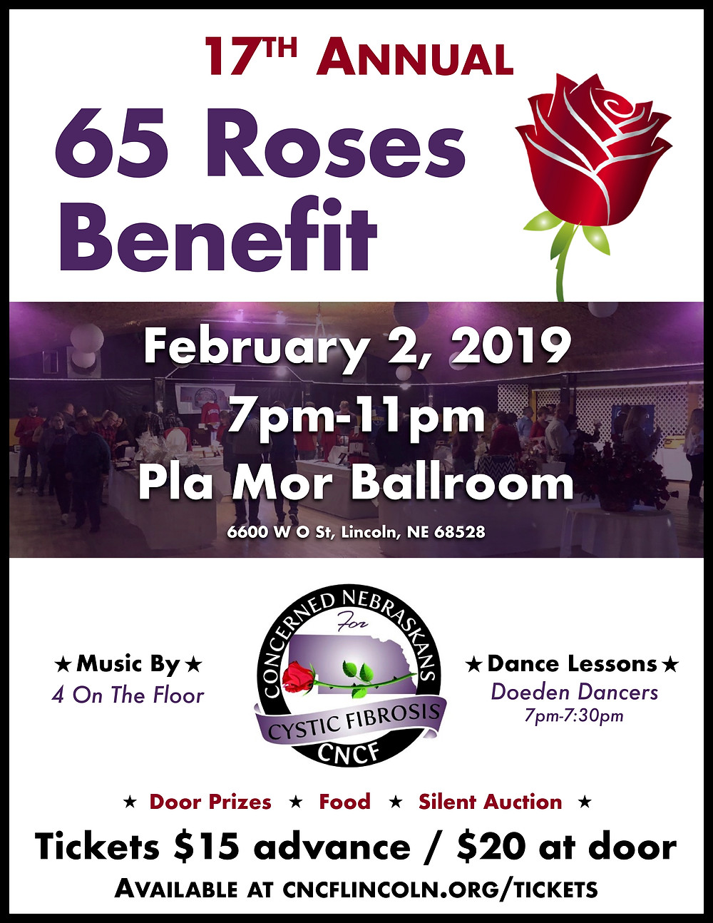 65 Roses Flyer