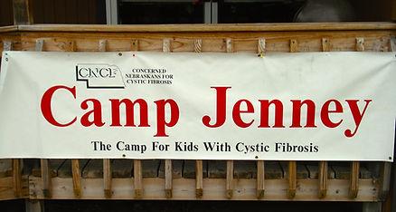 Camp Jenney Sign