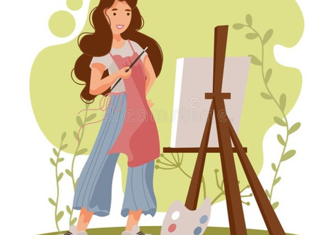 WHAT DOES IT TAKE TO MAKE A PAINTING?