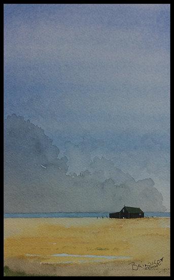 SEA SHANTY. . 320mm x 200mm. Framed. Watercolour by Johan Brink..