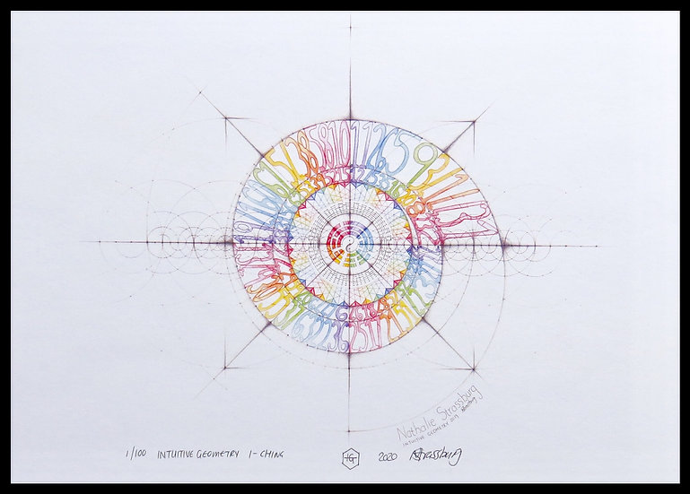 I CHING. Signed, limited-edition print by Nathalie Strassburg.