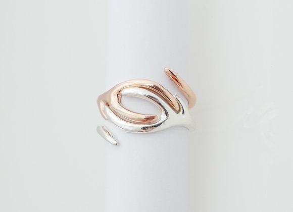 Stackable Set of Antler Rings