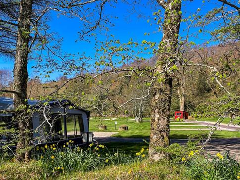 Spring at Reraig Caravan & Camping