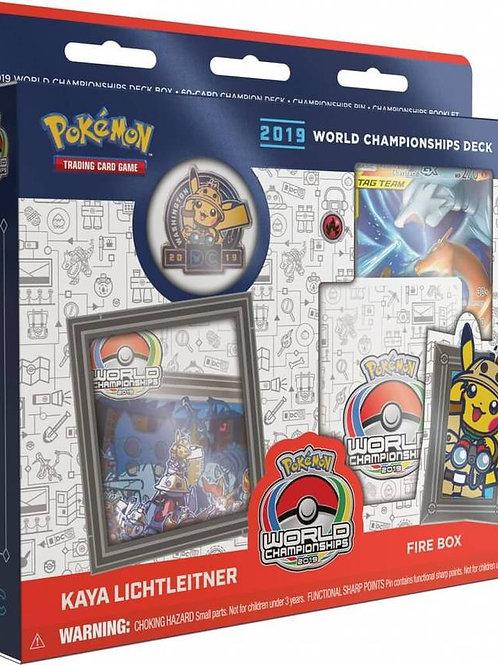Pokemon World Championship 2019 - Kaya Lichtleitner Fire Box Deck