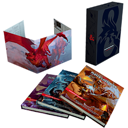 D&D Core Rule Book Gift Set