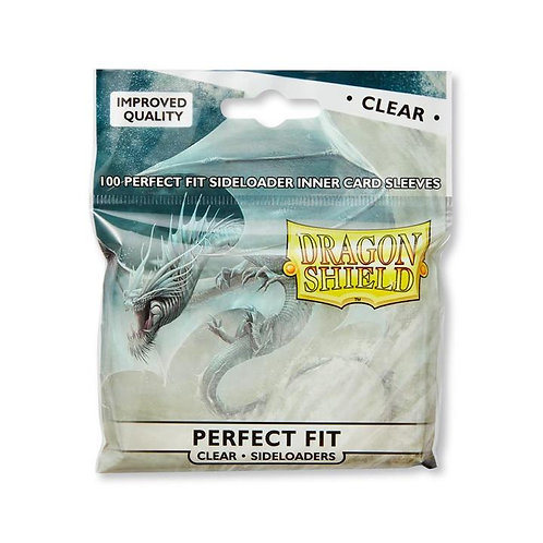 Dragon Shield Perfect Fit Sideloaders Clear - Standard Size 100ct