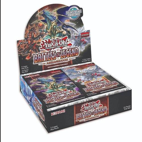 Yu-Gi-Oh! Battle of Legends Armageddon Booster Box