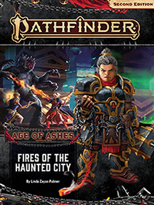 Pathfinder 2nd Edition Age of Ashes - Fires of the Haunted City