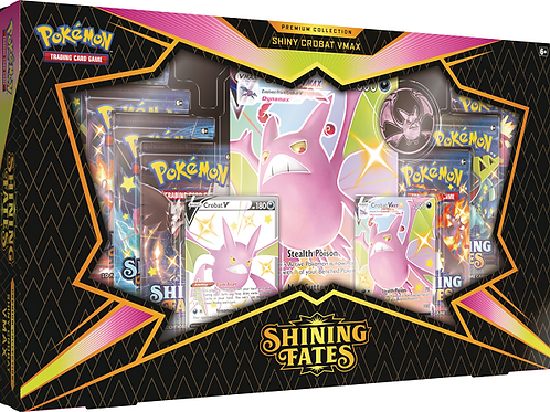Pokemon Shining Fates Premium Collection - Crobat