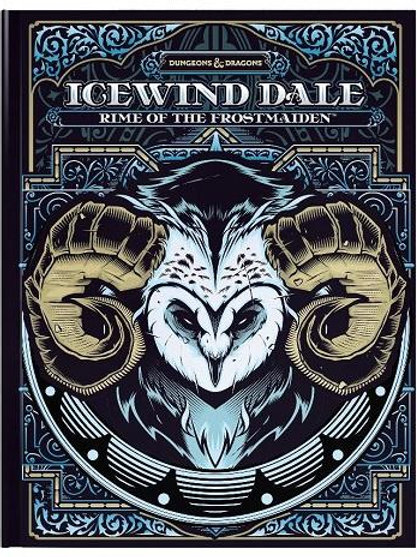 D&D Icewind Dale: Rime of the Frostmaiden Alt Cover