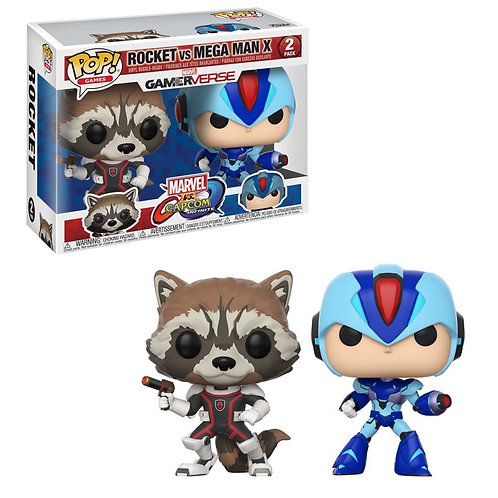Funko POP! - Rocket Vs. Mega Man X (2 Pack)