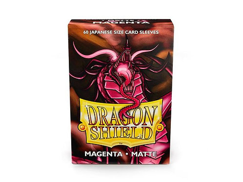 Dragon Shield Japanese Matte Magenta 60ct