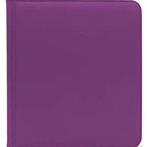 Dex 12pkt Zip Binder Purple