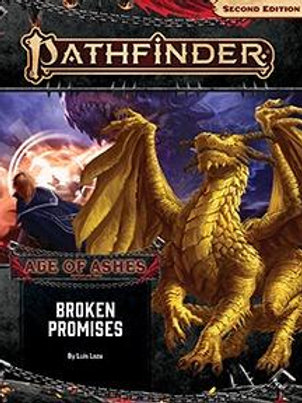Pathfinder 2nd Edition Age of Ashes - Broken Promises