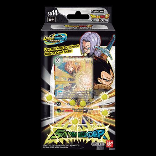 Dragon Ball Super Starter Deck 14 - Saiyan Wonder