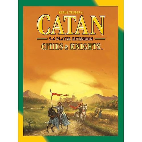 Catan: Cities & Knights 5-6 Player Expansion