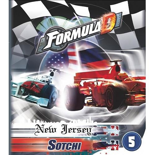 Formula D Circuits 5 - New Jersey & Sotchi Expansion