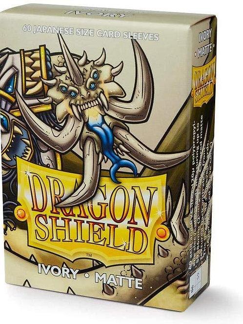 Dragon Shield Japanese Matte Ivory 60ct