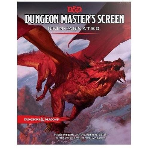 D&D Dungeon Master's Screen Reincarnated