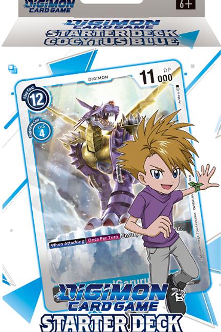 Digimon TCG Starter Deck - Cocytus Blue