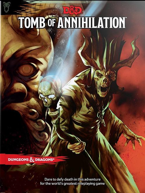 D&D Tomb of Annilhilation HC 5th Edition