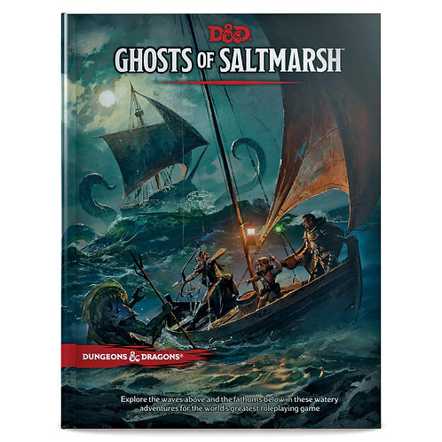 D&D Ghosts of Saltmarsh HC 5th Edition (Standard Edition)