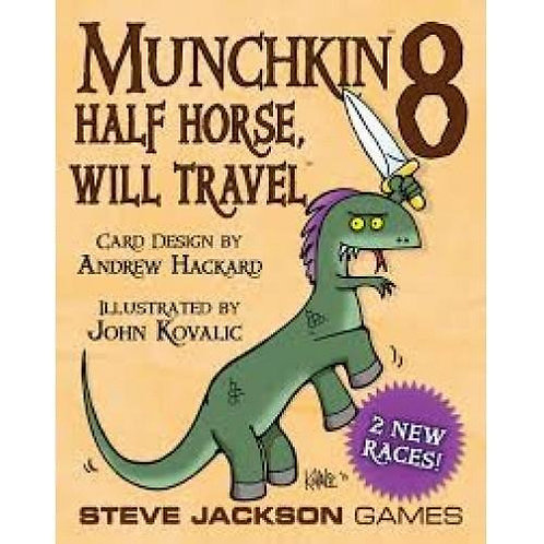 Munchkin 8 - Half Horse, Will Travel Expansion