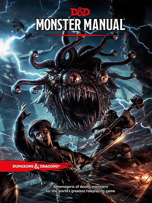 D&D Monster Manual HC 5th Edition