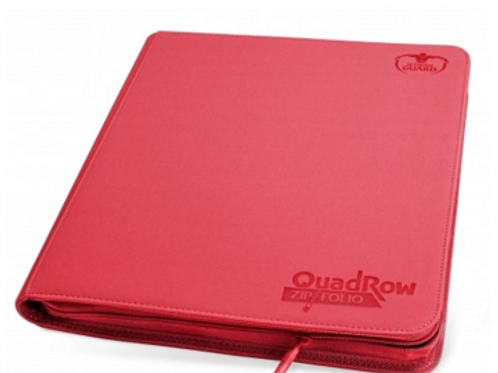 Ultimate Guard Quadrow Zipfolio Xenoskin - Red