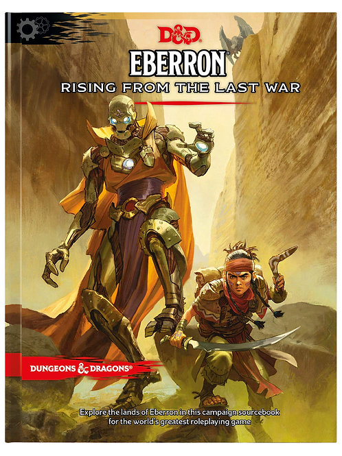 D&D Eberron - Rising From The Last War HC 5th Edition