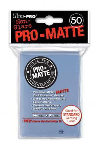 UltraPRO 50ct Matte Clear Sleeves