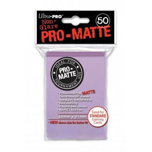 UltraPRO 50ct Matte Lilac Sleeves