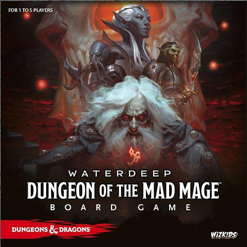 Dungeons & Dragons Waterdeep: Dungeon of the Mad Mage Board Game