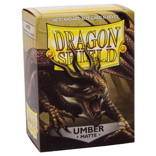 Dragon Shield Matte Umber 100ct