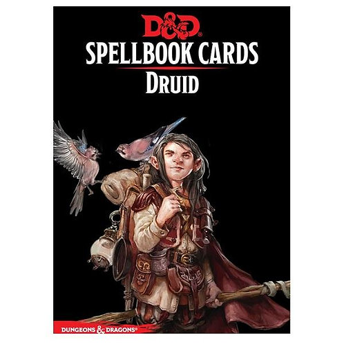 D&D Spellbook Cards - Druid