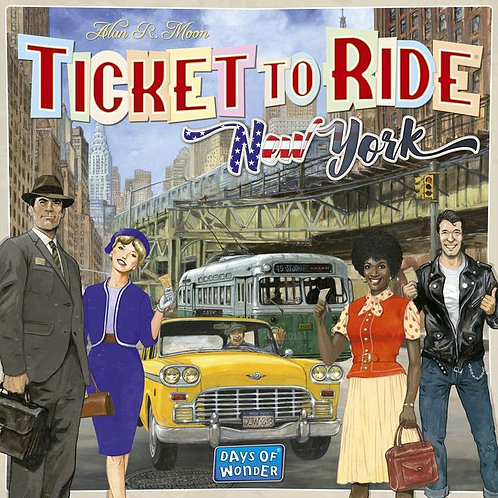Ticket to Ride - New York 1960