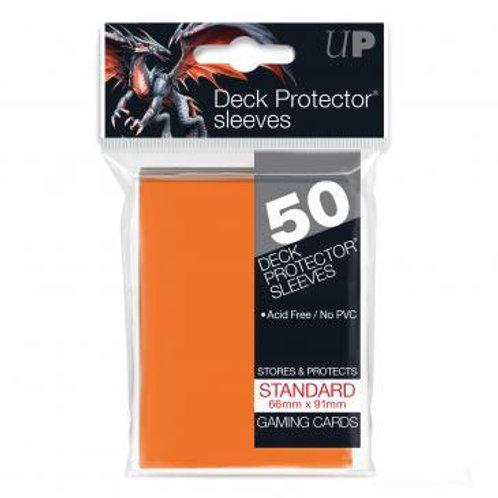 UltraPRO 50ct Orange Sleeves