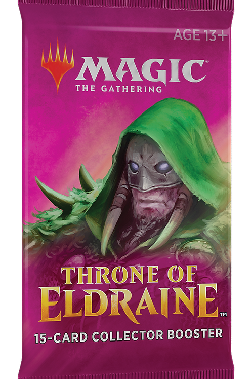 MTG Throne of Eldraine Collector Booster Pack