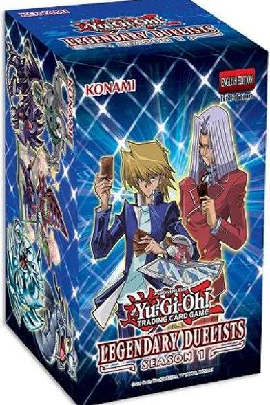Yu-Gi-Oh! - Legendary Duelists Season 1 Box