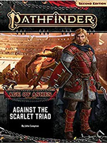 Pathfinder 2nd Edition Age of Ashes - Against the Scarlet Triad