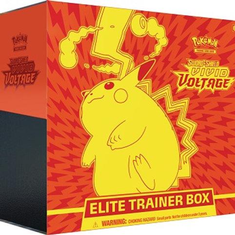 Pokemon TCG Vivid Voltage Elite Trainer Box (Preorder Nov 13)