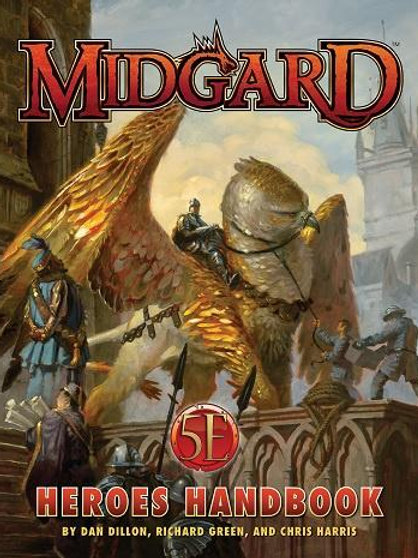 Midgard 5th Edition Heroes Handbook