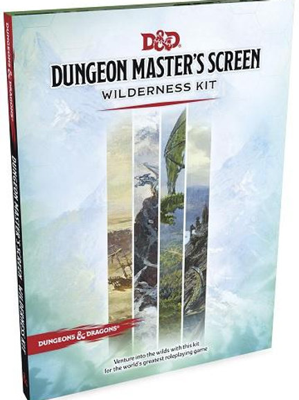 Dungeons & Dragons - 5th Edition - Dungeon Master's Screen - Wilderness Kit