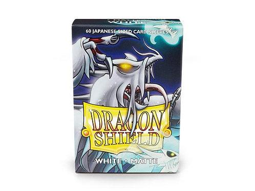 Dragon Shield Japanese Matte White 60ct