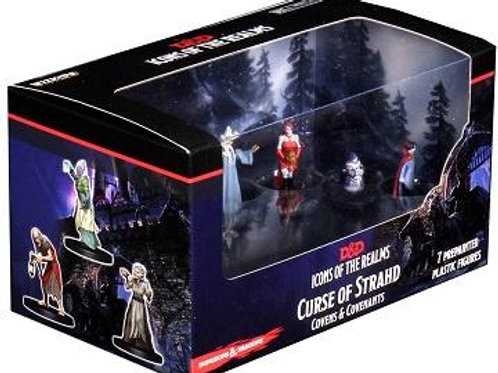 D&D Icons: Curse of Strahd Covens & Covenants Minis Set