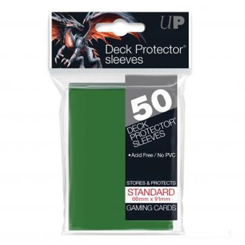 UltraPRO 50ct Green Sleeves