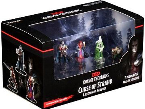 D&D Icons: Curse of Strahd Legends of Barovia Minis Set