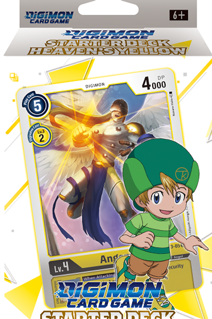 Digimon TCG Starter Deck - Heavens Yellow