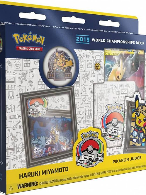 Pokemon World Championship 2019 - Haruki Miyamoto Pikarom Judge Deck