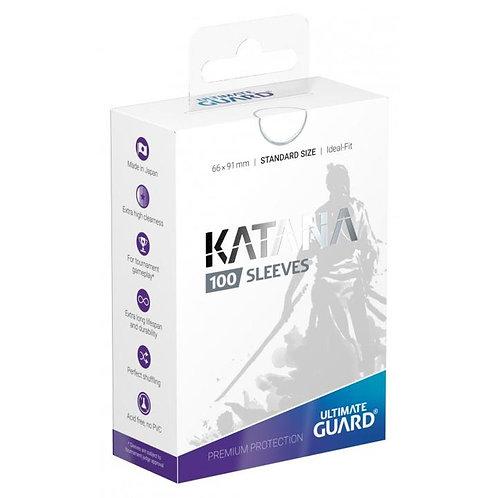 Ultimate Guard - Katana Sleeves - 100ct White